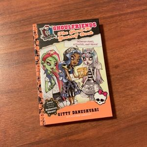 "NEW! Monster High ""Ghoul It Yourself"" Hardcover"